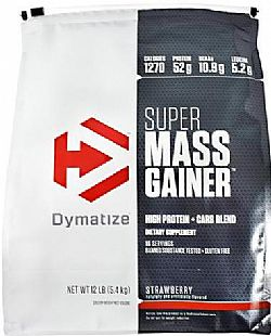 DYMATIZE  SUPER MASS GAINER 12 LBS 5.443 gr
