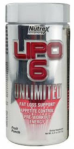 Nutrex Lipo-6 Unlimited 120 CAPS