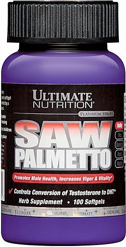 Ultimate Nutrition Saw Palmetto 100 caps