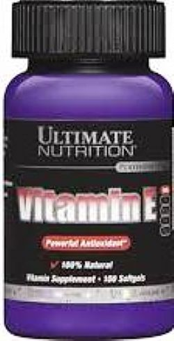 Ultimate Nutrition Vitamin E 100 softgels 400 IU