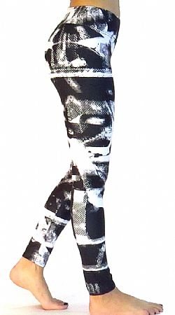 Platinum Bodies - tights - Black/white w22 ΚΩΔΙΚΟΣ: W22