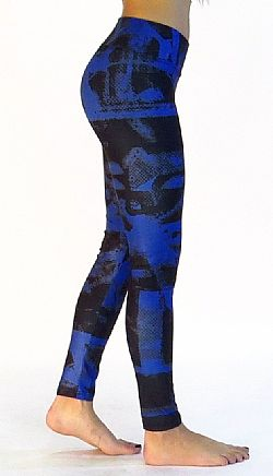 Platinum Bodies - tights - Black/blue tights W25 ΚΩΔΙΚΟΣ: W25
