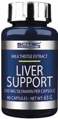SCITEC NUTRITION/LIVER SUPPORT 80 CAPS