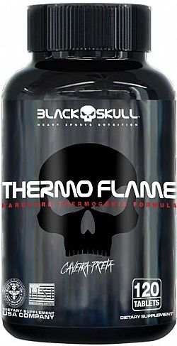 BLACK SKULL/THERMO FLAME 60 TABS